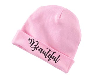 Beautiful Funny Cotton Beanie For Infants