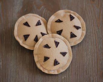 Felt Chocolate Chip Cookies