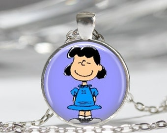 Lucy Necklace The Peanuts Jewelry Charlie Brown Character Necklace