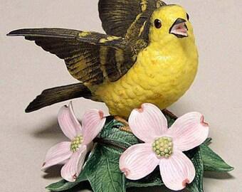 Lenox Fine Porcelain Singing Yellow Warbler