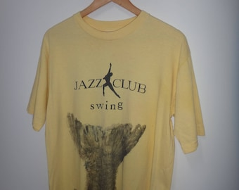 Vintage JAZZ CLUB Swing T Shirt