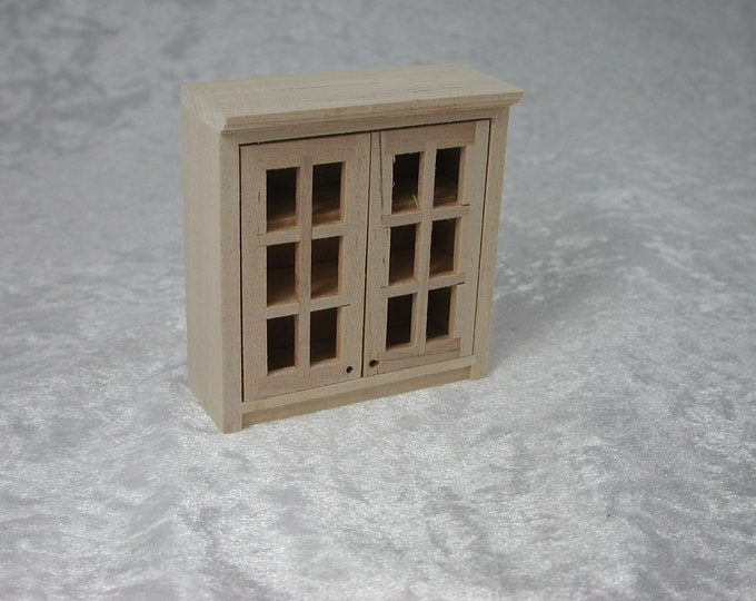 Hanging cupboard, for the doll's house, the Dollhouse, Dollhouse miniatures, cribs, miniatures, model making # v 22064