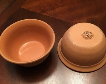 Bentson-West Designs - Set of 2 Clay Bowls - Made in Italy for Boston Warehouse - Great for Salsa