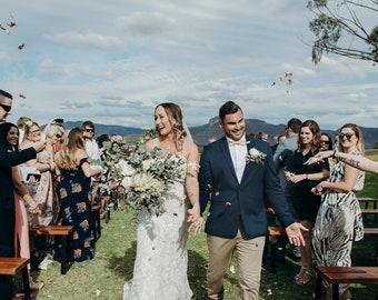Wedding Confetti | Dried Flower Confetti | Biodegradable Confetti | Ceremony Confetti | Rose Petal Confetti