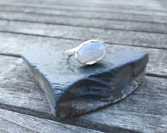 Agate ring, Intuition jewelry, Ring, Gift, Jewelry, sterling silver Ring, Intention Jewelry, Nature Inspired, Unique Jewelry, Boho ring,