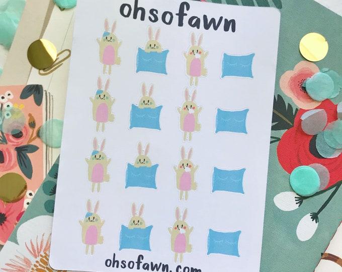 Sick Bunny Stickers