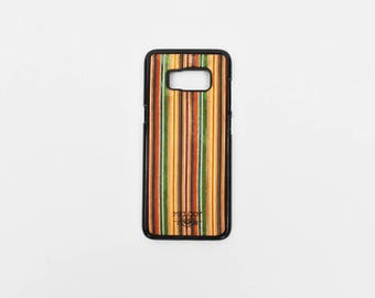 Hard phone case made of recycled skateboard - Iphone 6/7/8/5 /-Samsung S7/S8