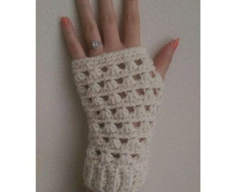 Lazy Daisy Fingerless Gloves Crochet Patterns *PDF ONLY* Instant Download