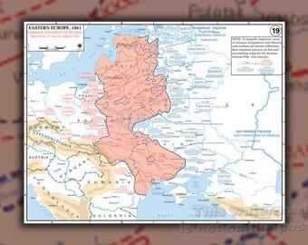 Poster, Many Sizes Available; Operation Barbarossa