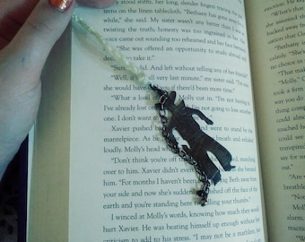 Crochet Bookmark Coybow Charm