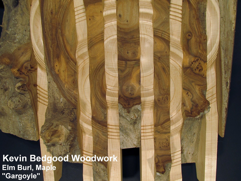 Sculpture Wall Hanging  Gargoyle  wall art wood turning & Sculpture Wall Hanging Gargoyle wall art wood turning