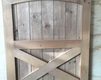 Baby/Dog Gates - Solid Wood - Barn Style
