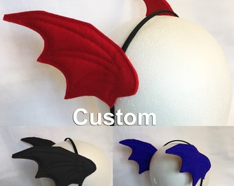 Scales Headband Dragon wings headband mermaid fins ears custom color scales fins wings headband head wings dragon scales dragon headband
