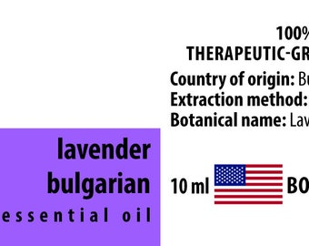 Lavender 100% Pure Essential Oil from Bulgaria 10ml