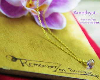 GENUINE raw Amethyst Necklace Healing Crystal Natural Stone Yoga Jewelry healing jewelry  healing jewelry positive energy