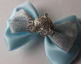 Cinderella Inspired Boutique Bow