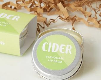 Cider Lip Balm - Lip Balm - Mothers day gift - mothers day - lip gloss -  Alcohol Lip Balm - Cider gift - cider - lip care - token gift