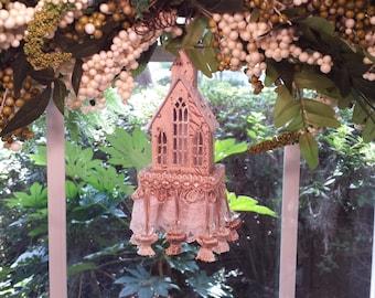 Going to the Chapel Decorative Tassel Wedding Confirmation Baptism Christening Keepsake Swag Lamp Candelabra Wreath Centerpiece Focal Point