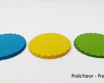 "30 - Scalloped Circles ""Freshness"""