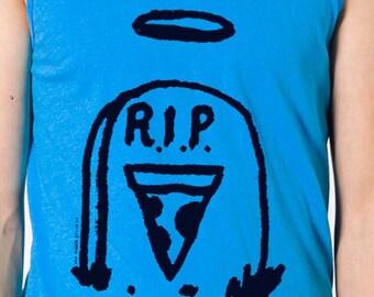 RIP Pizza Adult Tank Top Shirt