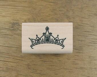 Tiara Rubber Stamp