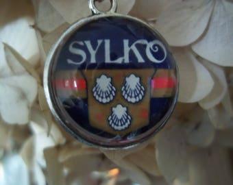 Sylko Label Necklace