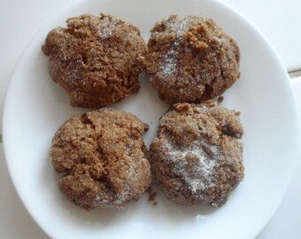 Soft Molasses Cookies Homemade