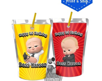 Boss Baby Juice Pouch