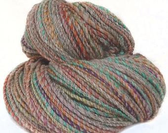 Handspun Handdyed Yarn Merino wool Yak