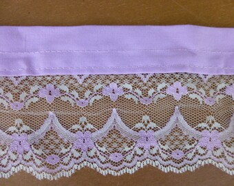 Lilac Lace with Trim