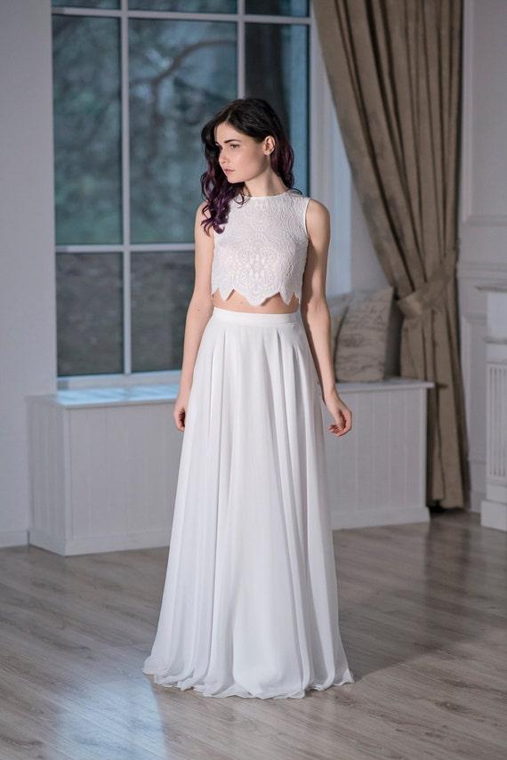 Iris - bohemian wedding dress