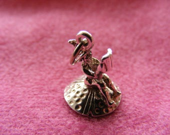 D) Vintage Sterling Silver Charm Imp on a toadstool