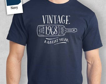 50th Birthday, 1968 Birthday, 50th Birthday Idea, Great 50th Birthday Present, 50th Birthday Gift. 50th Birthday Shirt For an 50 Year Old!