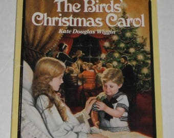 The Birds' Christmas Carol by Kate Douglas Wiggin Vintage Softcover Book
