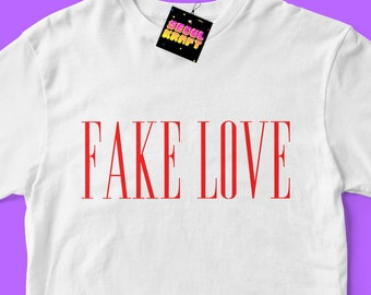 방탄소년단 BTS Fake Love | Love Yourself: Tear Unisex Kpop Shirt | bts kpop | bts | bts shirt