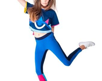 Vela Leggings (Blue)