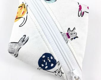 Kitty Cats Zipper Pouch For Mew