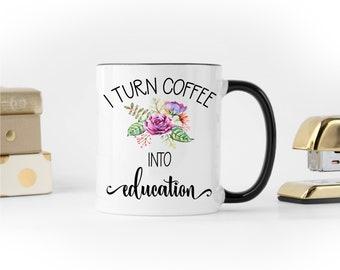 Teacher Mug, Gift for Teacher, Teacher Appreciation Gift, Teacher Coffee Mug, New Teacher Gift, Teacher Gift, Funny Teacher Mug, Funny Mug