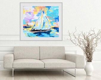 Come Sail Away Print