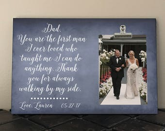 Free Proof and Personalization, FATHER of the BRIDE, DAD You are the first man I ever loved who taught me I can do anything, Stepdad   dy02