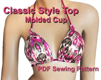 Classic Style Molded Cup Top (7 Sizes)