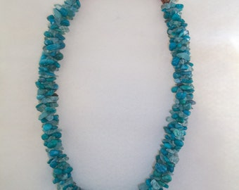 S - 184 Genuine gemstone, necklace