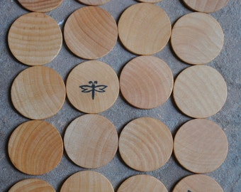 Summer Time Wooden Matching Game – A Montessori and Waldorf Inspired Toy (K)