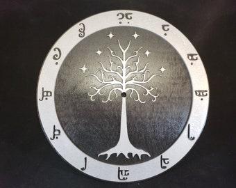 """12"""" Elven Tree Clock"""