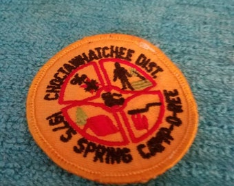 Choctawhatchee Dist 1975 Spring Camp D Ree Patch