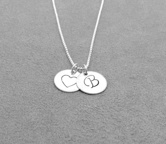 Initial necklace heart necklace letter b necklace initial initial necklace heart necklace letter b necklace initial jewelry heart jewelry charm necklace sterling silver jewelry all letters mozeypictures Choice Image
