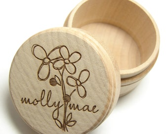 Custom Wooden Gift Boxes-Engraved
