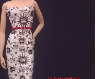 Dolls dress for Barbie,Tall barbie, FR,Silkstone,Vintage barbie- No.180506-09