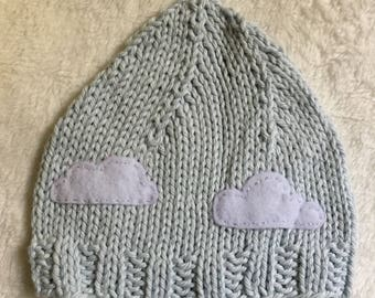 Happy Little Clouds Wee Folk Hat