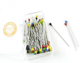 Dressmaker Pins, Stainless Steel Pins, 50PCS Box, 28mm